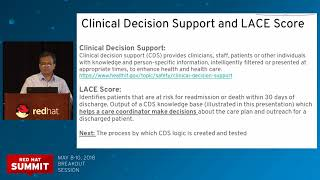 Clinical decision support with decision model and notation (DMN)