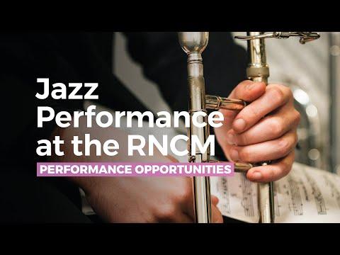 Jazz Performance at the RNCM