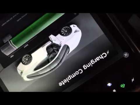 Ultimate EMF Detector showing Tesla charging