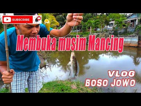 Membuka musim mancing (edisi mancing p1) - Vlog jowo sonko Suriname