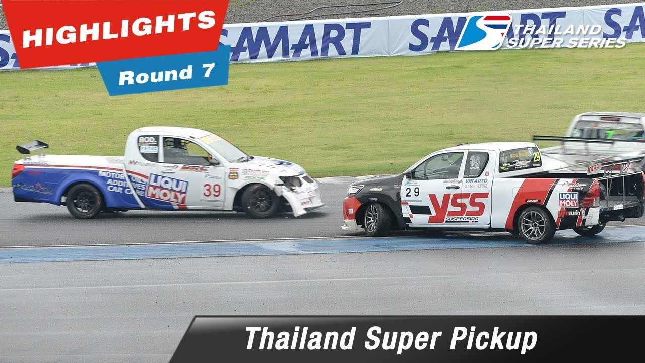 Highlights Thailand Super Pickup Round 7 @Chang International Circuit