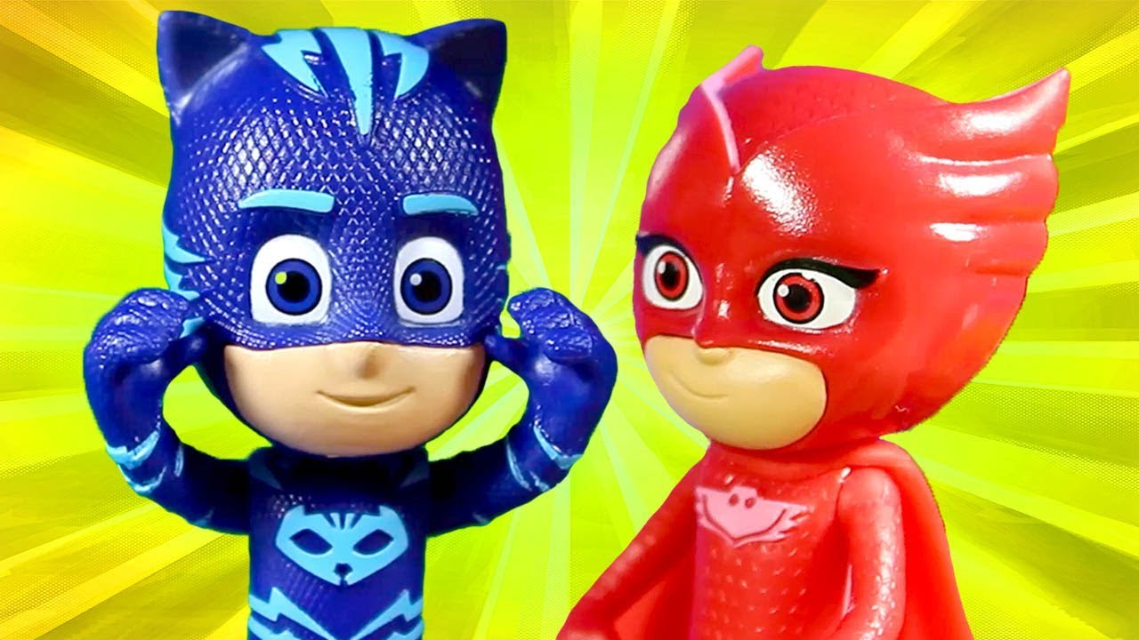 PJ Masks | PJ Masks Toys Videos #1 Catboy and Owlette ⭐️PJ Masks Valentines | Cartoons for Children