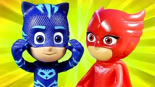 PJ Masks | PJ Masks Toys Videos #1 Catboy and Owlette ⭐️PJ Masks Valentines | PJ Masks Official