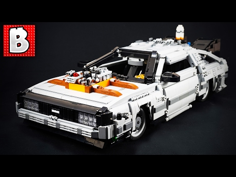 LEGO DMC DeLorean from Back To The Future!!! | Top 10 MOCs | Weekly MOCs News