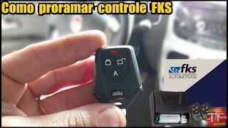 Como programar controle dos alarmes NBM , FKS e outras marcas.