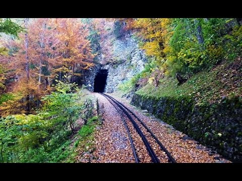 Brienz Rothorn Bahn (Switzerland) - Drivers Eye View
