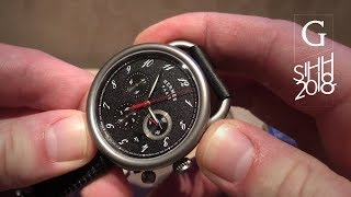 SIHH 2018: Hermes Watches: Carre H and Arceau Chronograph