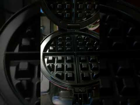How to clean a waffle iron or George Foreman