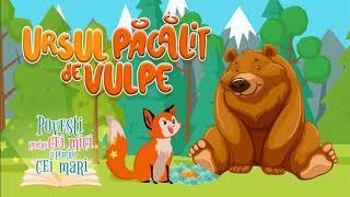 Ursul pacalit de vulpe - Clopotelul Magic - Povesti pentru cei mici si pentru cei mari 📕