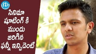 Karthick Naren About Funny Incident About Shoot    #16Movie    Talking Movies With iDream