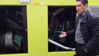 видео Дизельная электростанция Pramac GSW110P