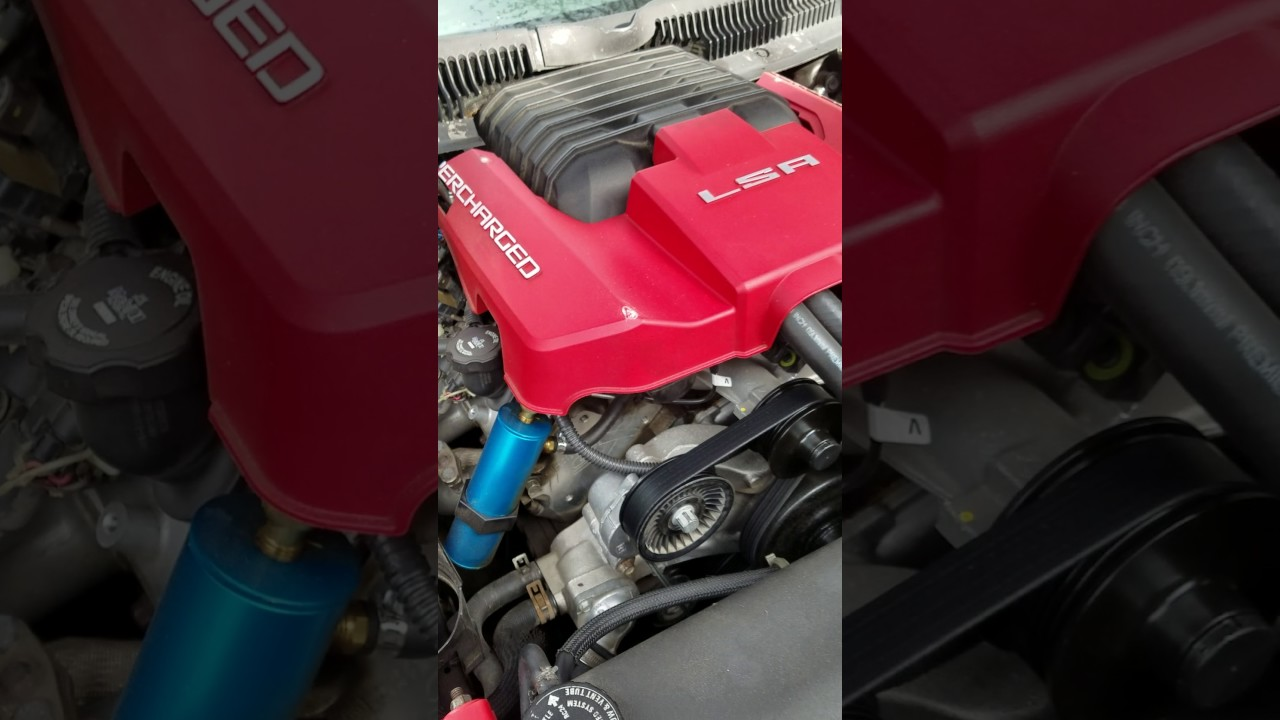 LS1 WITH LSA SUPERCHARGER by Jon Cantu