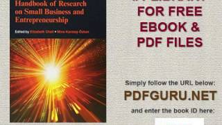 Handbook of Research on Small Business and Entrepreneurship Research Handbooks in Business and Manag