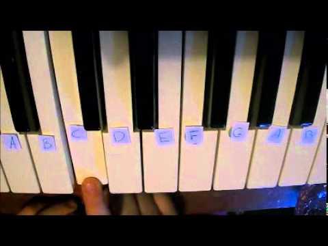 how to play twinkle twinkle little star on keyboard
