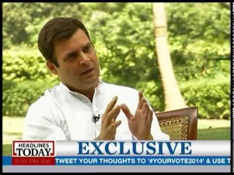 Rahul Gandhi on becoming the Prime Minister of India