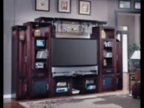 bookcase design and Modern solid wood TV stand - YouTube