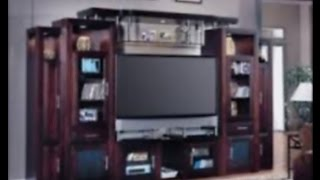 Bookcase Design And Modern Solid Wood Tv Stand