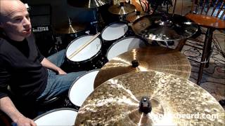 Spock's Gear - Jimmy Keegan talks about his drum setup for BNaDS live.