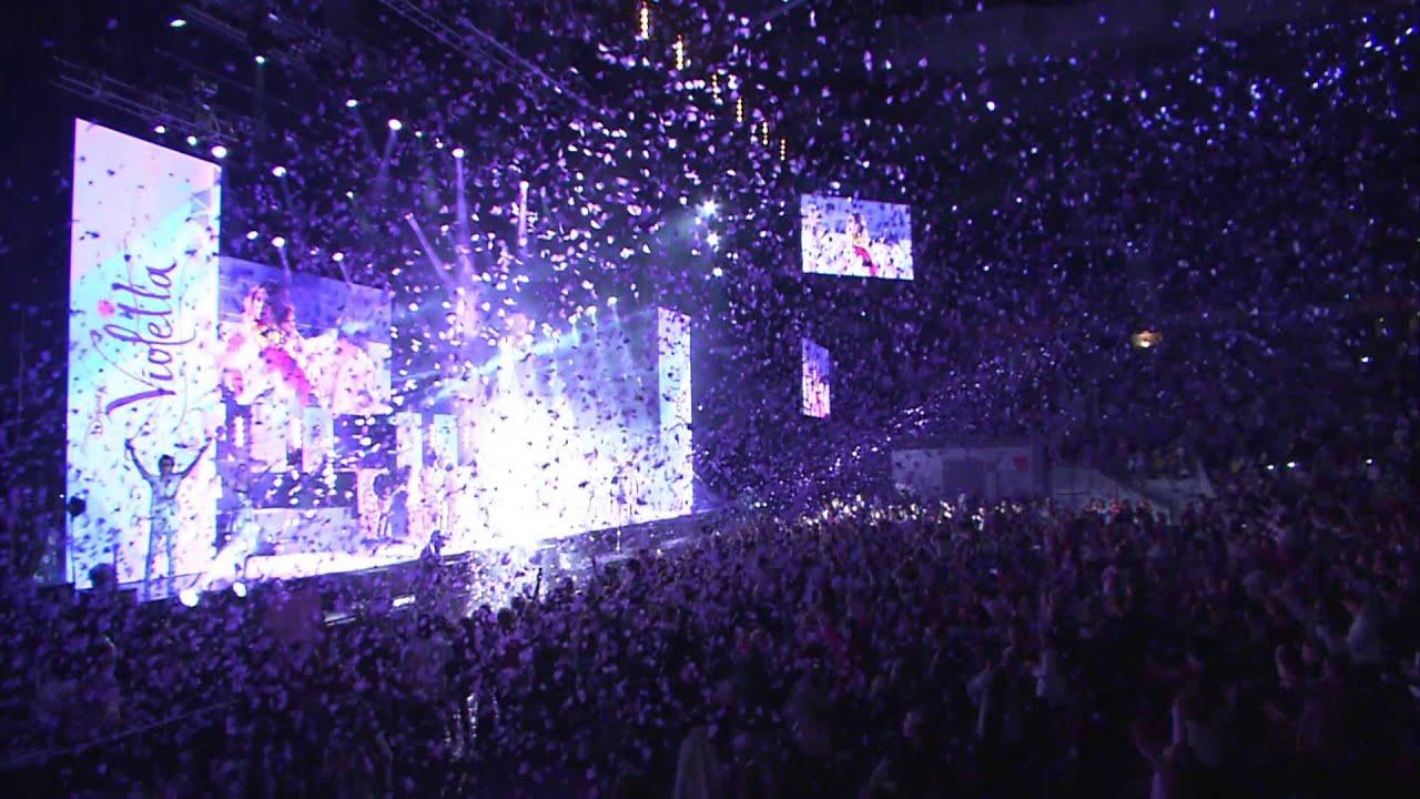 Disney Channel Espa 241 A Violetta En Concierto Tras Las