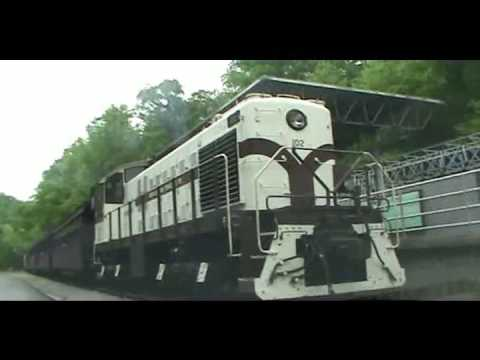 ALCO S2 Plays Steam Locomotive for a Day (Lots of Smoke)