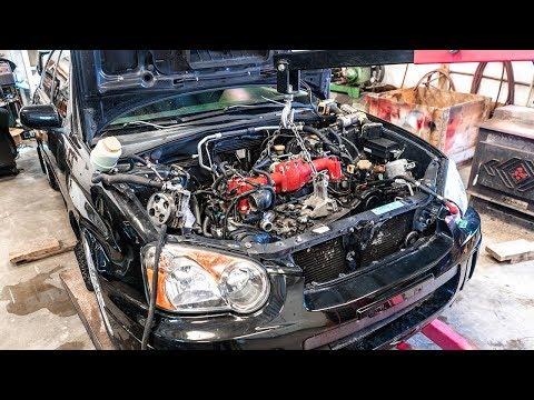 Installing the Subaru STi Motor!