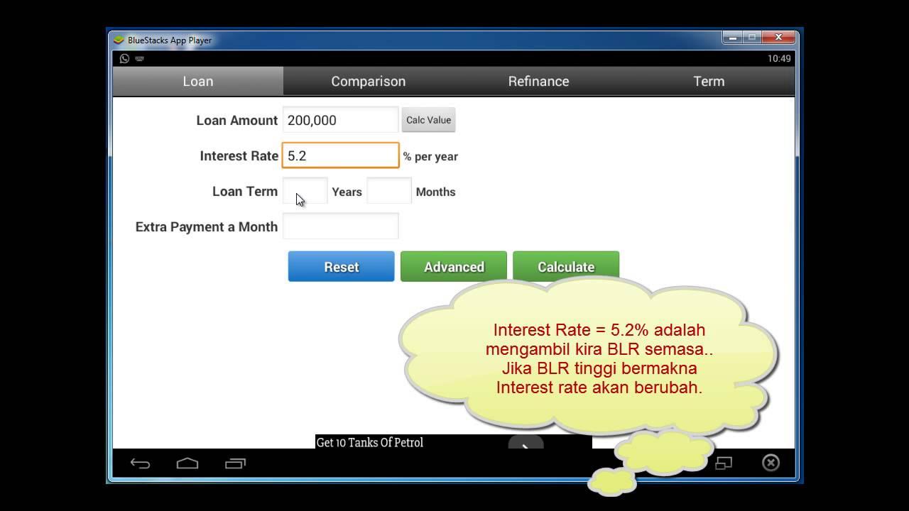cara mengira amortization loan asb youtube