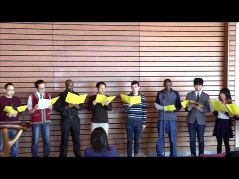 03-15-17 International Student Organization Service with Haeman Hong