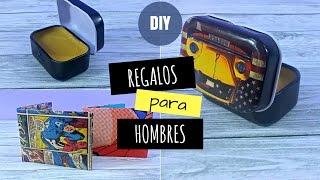 REGALOS PARA HOMBRES DIY | REGALOS DE NAVIDAD HECHOS A MANO