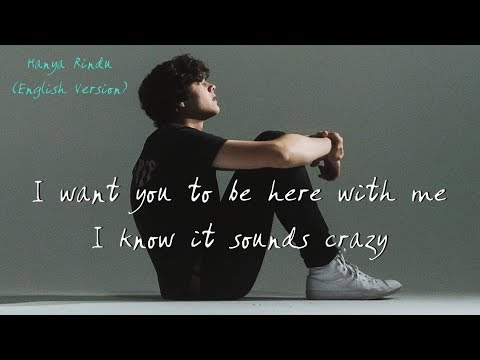 Andmesh - Hanya Rindu (English Version By Alexander Stewart) | LYRICS