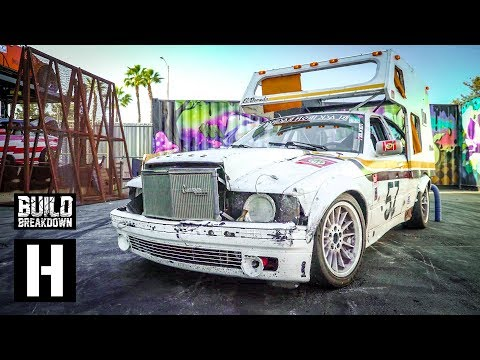 BMW E36 Camper Race Car Goes Full Hotrod