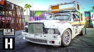 V8 BMW E36 Camper Lemons Race Car