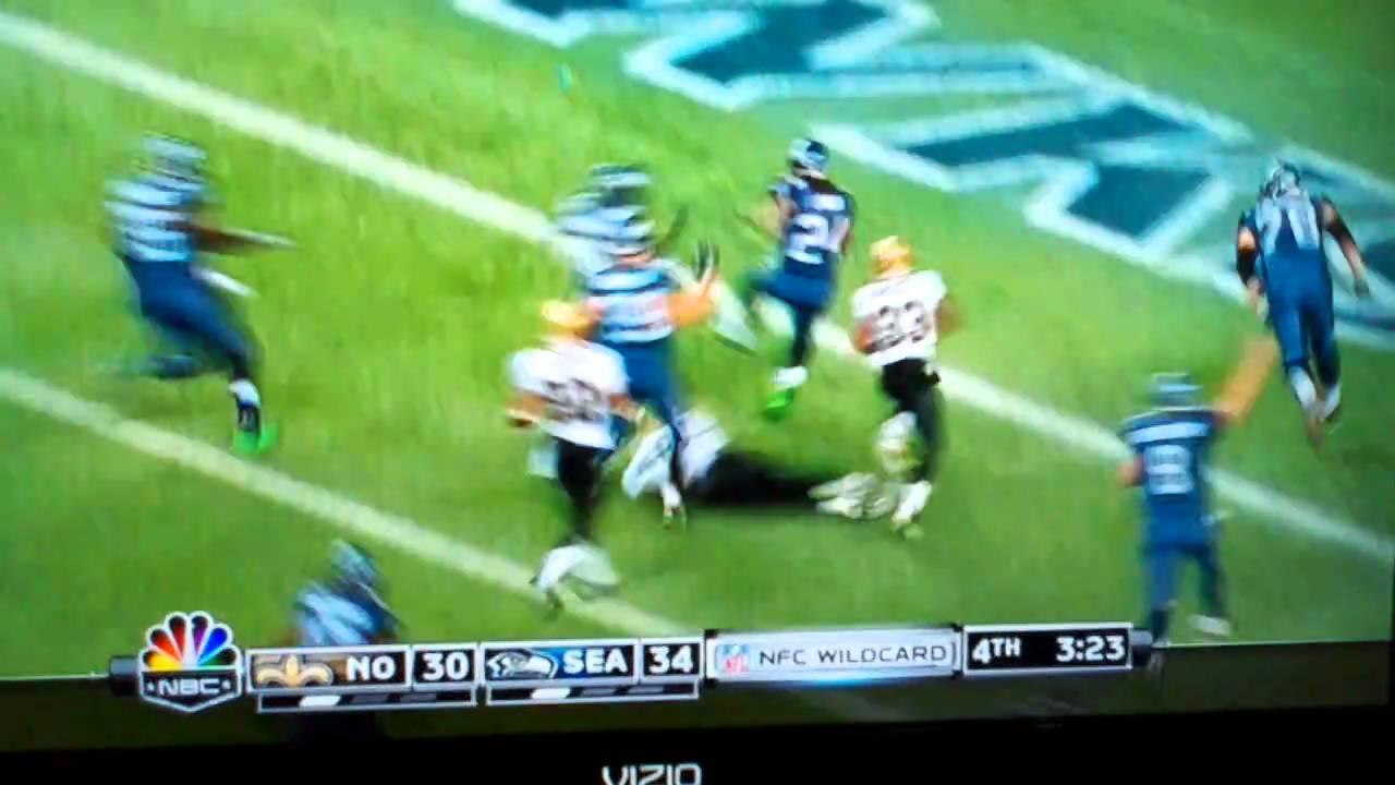 Marshawn Lynch S Get Off Me 67 Yard Touchdown Run Youtube