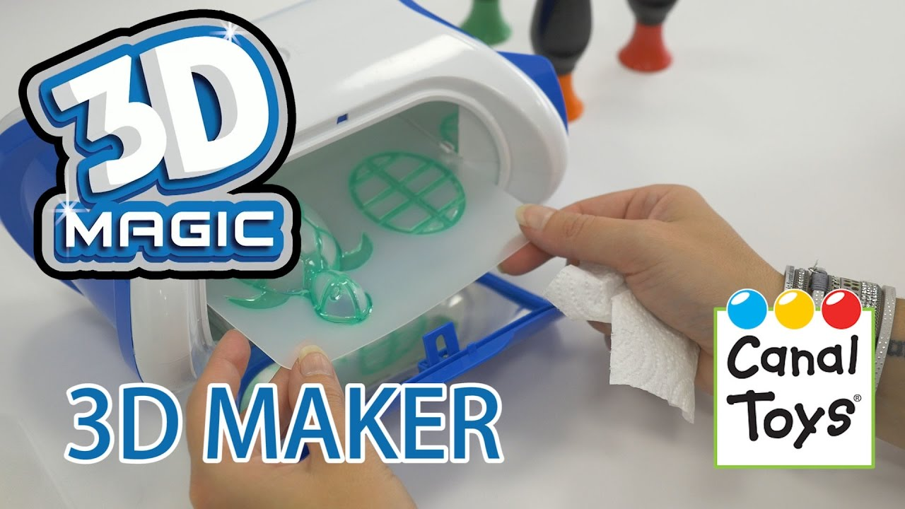 3d Maker Démo Du Jouet De Création 3d Youtube