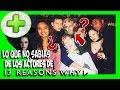 Lo que no sabías de los actores de 13 Reasons why - PLUS #15   Popcorn News