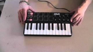 Tech Review: Akai MPK mini- Laptop Production MIDI Keyboard