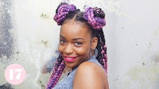 3 Cute AF Ways to Style Box Braids | Lay Your Edges