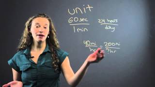 How to Do Conversion Factors in a Word Problem : Fun With Math