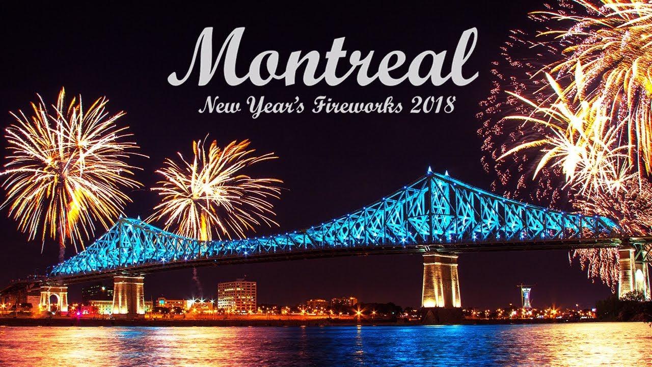 Risultati immagini per NEW YEAR'S EVE  in montreal 2018
