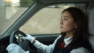 【感動】泣ける話・CM 話題の美人すぎるタクシードライバー 生田佳那 生田佳那 検索動画 2