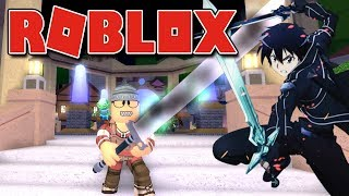 Roblox - SWORD ART ONLINE GRÁTIS ( Swordburst 2 )