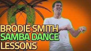 Brodie Smith's Dance Moves | Samba Lessons in Brazil