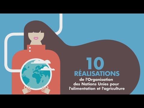 10 réalisations  de l'Organisation des Nations Unies pour l'alimentation et l'agriculture