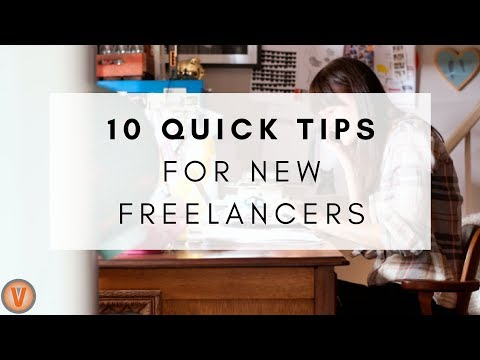 10 Quick Tips for New Freelancers | Virtual Vocations