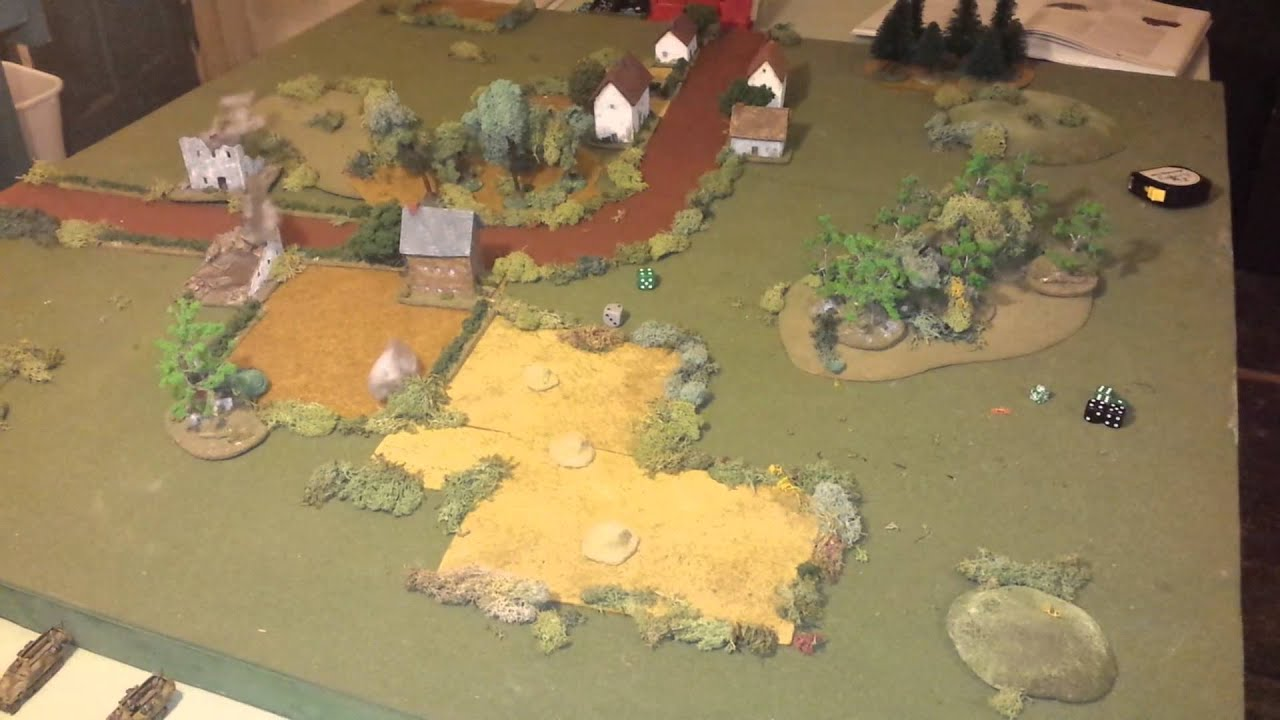 Battlegroup Demo BatRep (SOLO): Part 1