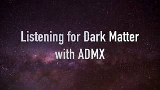 Listening for Dark Matter with ADMX