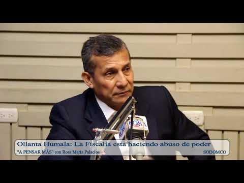 Ollanta Humala: La Fiscalía esta haciendo abuso de poder
