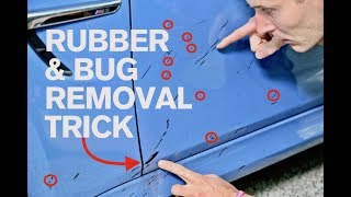RUBBER & BUG REMOVAL TRICK: How to do it Safely!