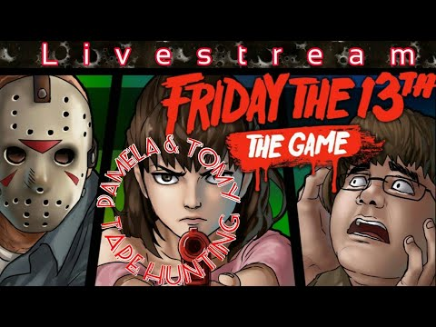Friday The 13th: Hunt 4 Pamela & Tommy Tapes  €Sponsor Goal 2/5€  [Interactive Streamer]