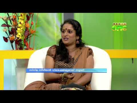 Surabhi in mediaOne morning news