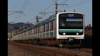 常磐線 E501系K702編成 友部~内原